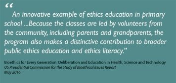 About Ethics Classes – Ethics education for children