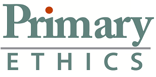 Primary Ethics Logo grey and orange no tag line smallest cropped