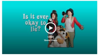 is it ever ok to lie podcast