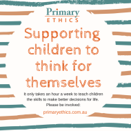 Supporting children to think for themselves